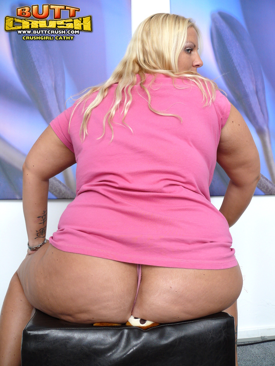 Bbw butt crush wish could